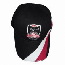 Baseball Cap, Made of Cotton, Customized Embroidery and Printing are Accepted